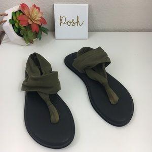 Sanuk yoga mat sling 2 spectrum sandals